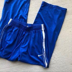 Nike•Warm Up Pants Blue